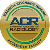 seal for american college of radiology magnetic resonance imaging award